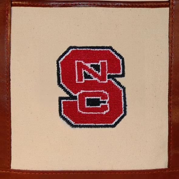 NC State Needlepoint Tote - Image 3
