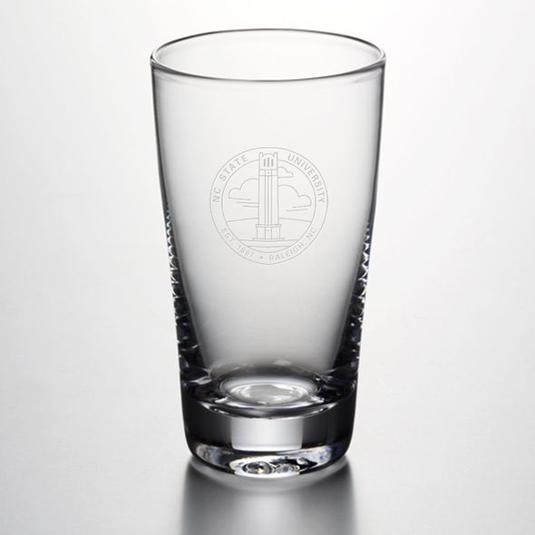 NC State Ascutney Pint Glass by Simon Pearce