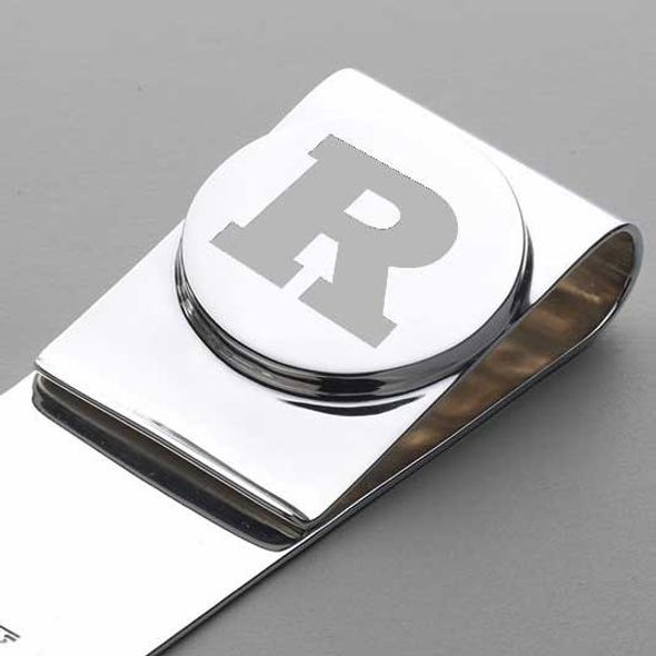 Rutgers University Sterling Silver Money Clip - Image 2