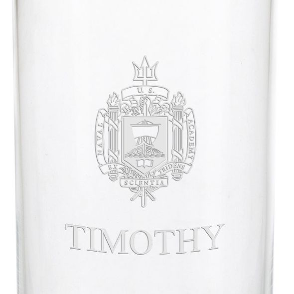 US Naval Academy Iced Beverage Glasses - Set of 4 - Image 3