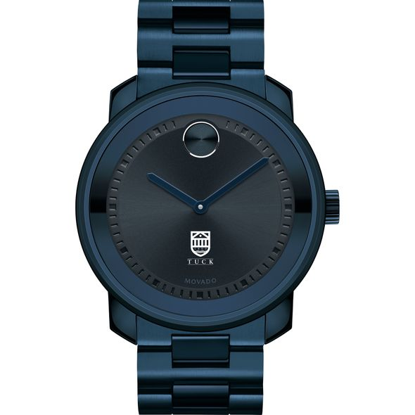 Tuck School of Business Men's Movado BOLD Blue Ion with Bracelet - Image 2