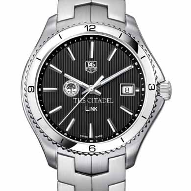 Citadel TAG Heuer Men's Link Watch with Black Dial