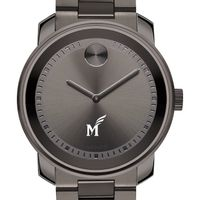 George Mason University Men's Movado BOLD Gunmetal Grey