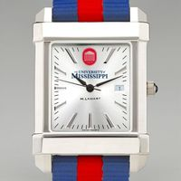 Ole Miss Men's Collegiate Watch with NATO Strap