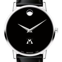 Virginia Military Institute Men's Movado Museum with Leather Strap