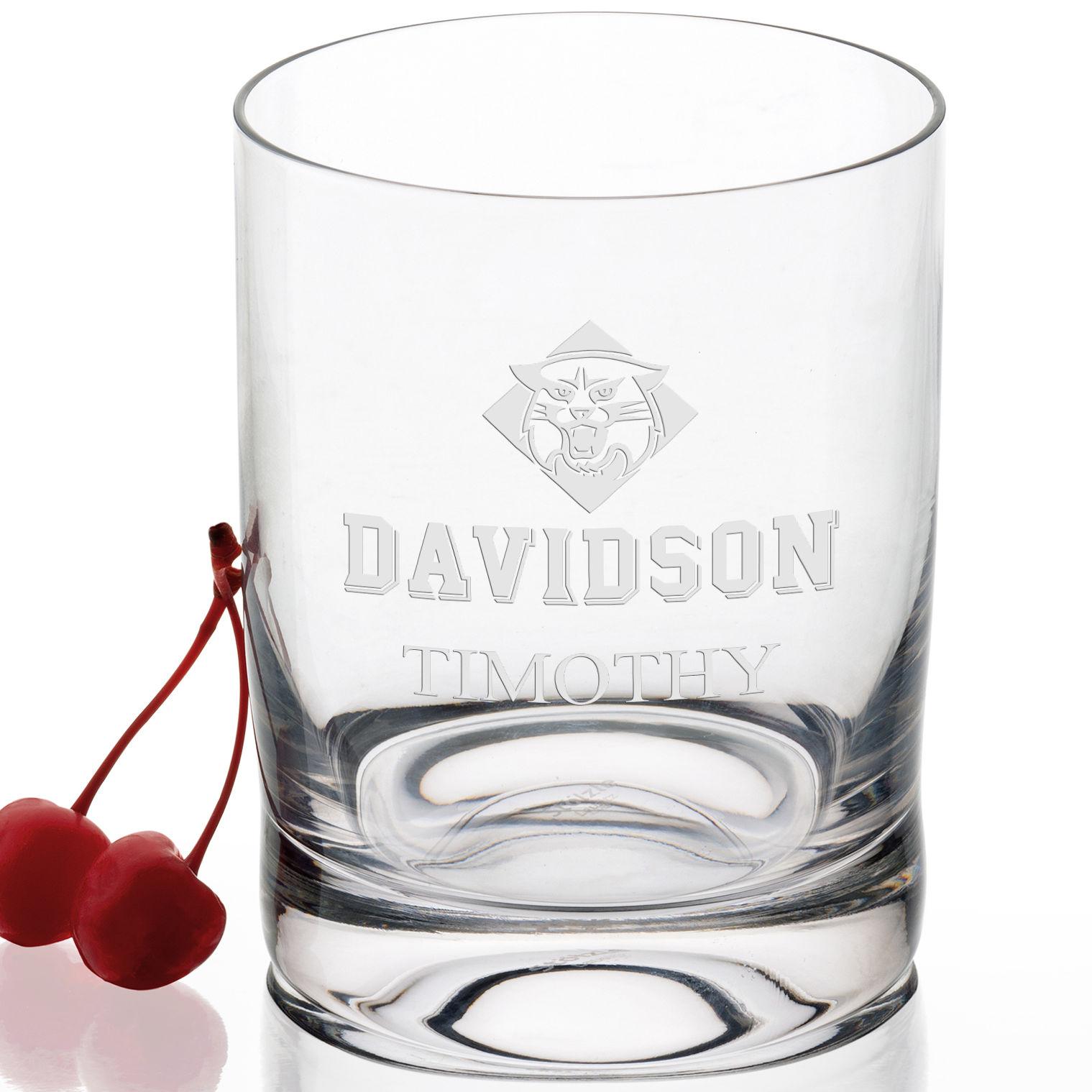 Davidson College Tumbler Glasses - Set of 2 - Image 2