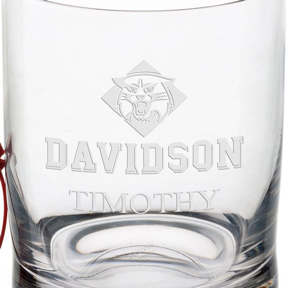 Davidson College Tumbler Glasses - Set of 2 - Image 3