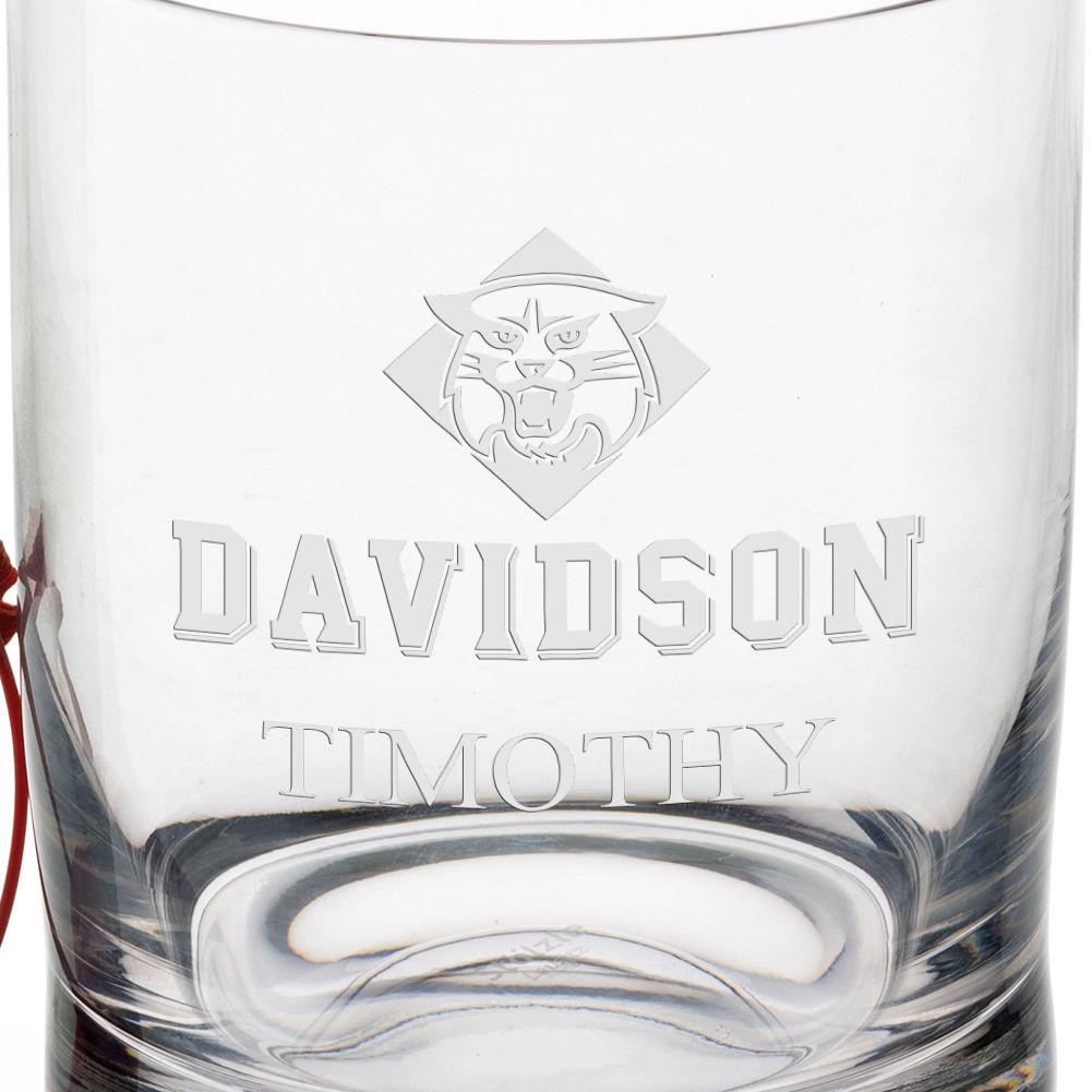 Davidson College Tumbler Glasses - Set of 2 - Image 3