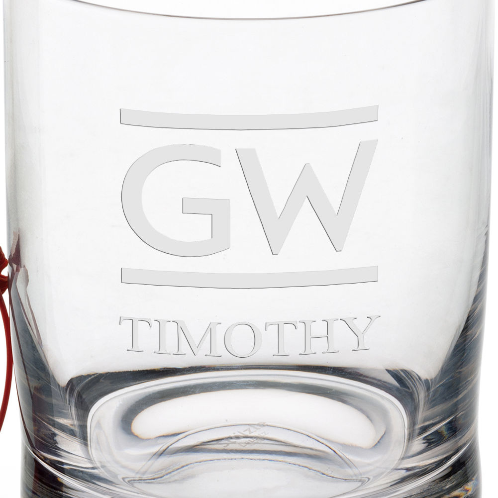 George Washington University Tumbler Glasses - Set of 4 - Image 3