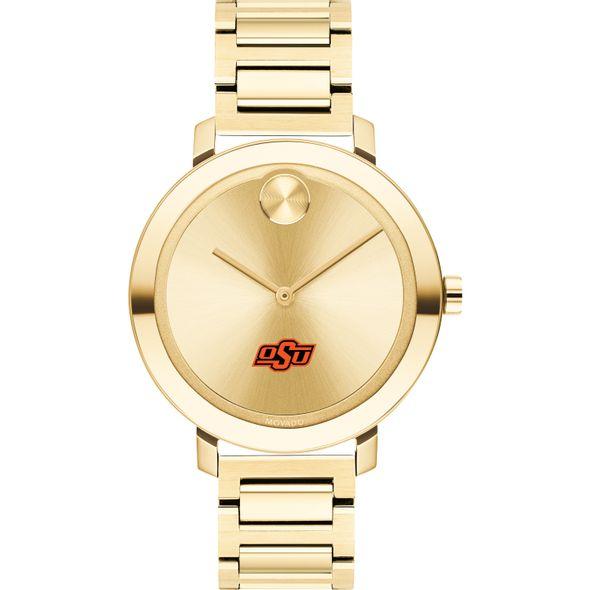 Oklahoma State University Women's Movado Gold Bold 34 - Image 2