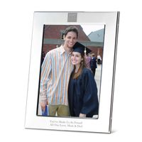 Duke Fuqua Polished Pewter 5x7 Picture Frame