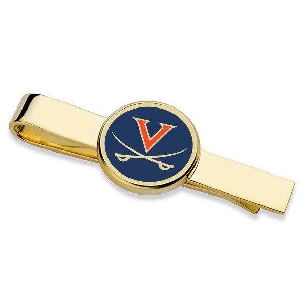 University of Virginia Enamel Tie Clip