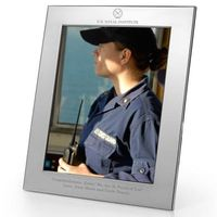 USNI Polished Pewter 8x10 Picture Frame