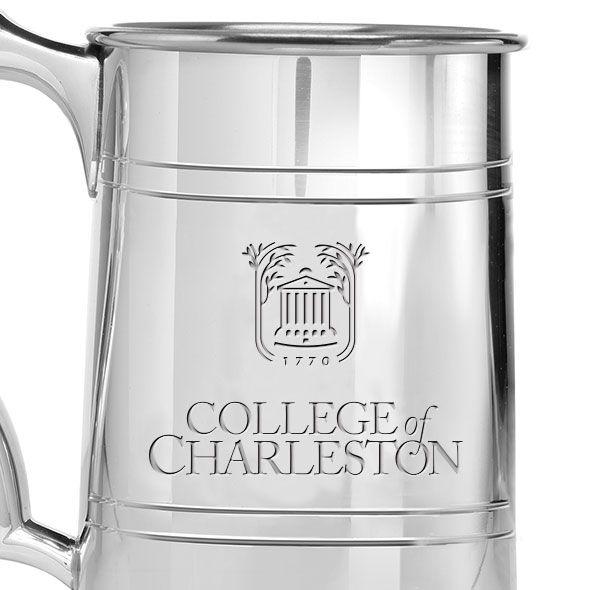 College of Charleston Pewter Stein - Image 2