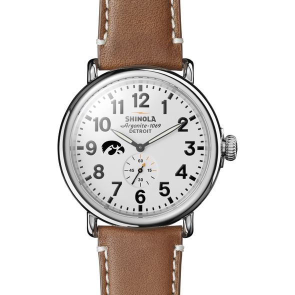 Iowa Shinola Watch, The Runwell 47mm White Dial - Image 2