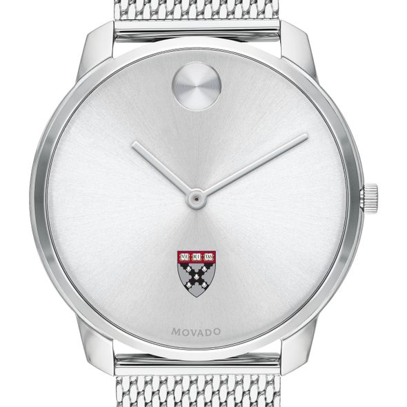 Harvard Business School Men's Movado Stainless Bold 42 - Image 1