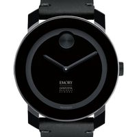 Emory Goizueta Men's Movado BOLD with Leather Strap