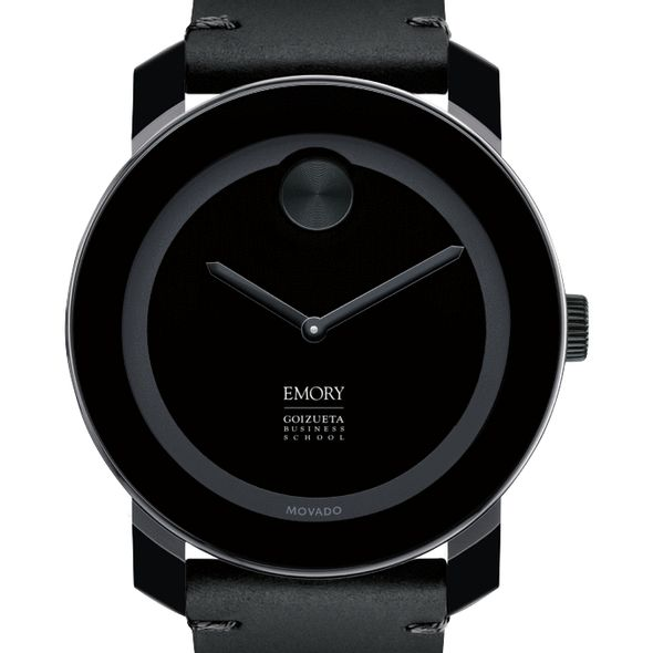 Emory Goizueta Men's Movado BOLD with Leather Strap - Image 1