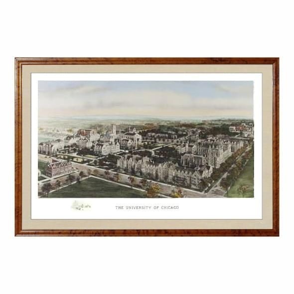 Historic University of Chicago Watercolor Print