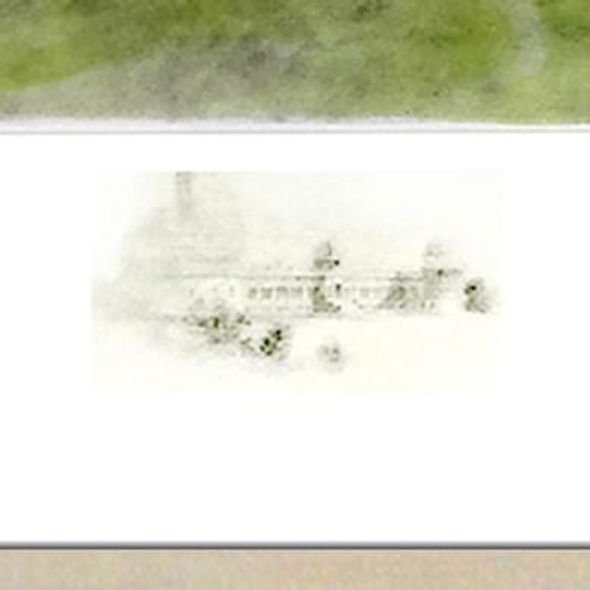 Historic University of Chicago Watercolor Print - Image 3