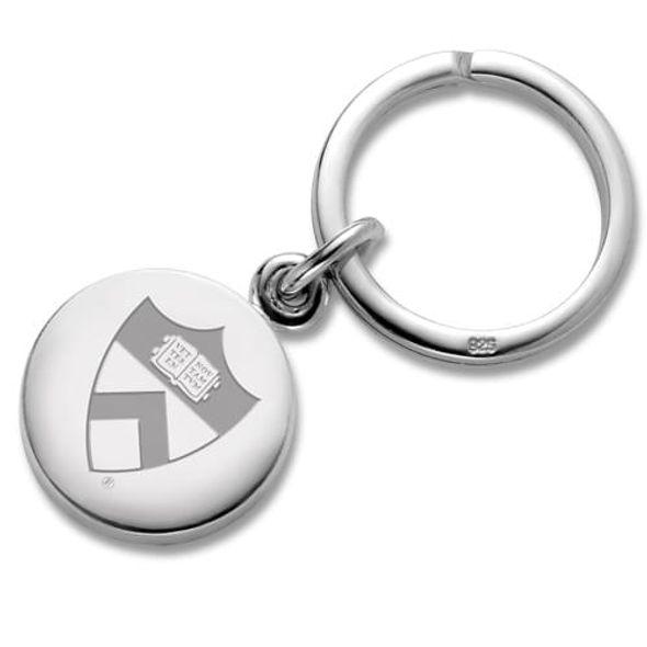 Princeton Sterling Silver Insignia Key Ring