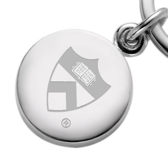 Princeton Sterling Silver Insignia Key Ring - Image 2