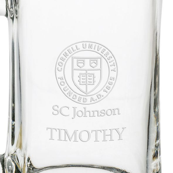 SC Johnson College 25 oz Beer Mug - Image 3