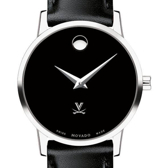 University of Virginia Women's Movado Museum with Leather Strap