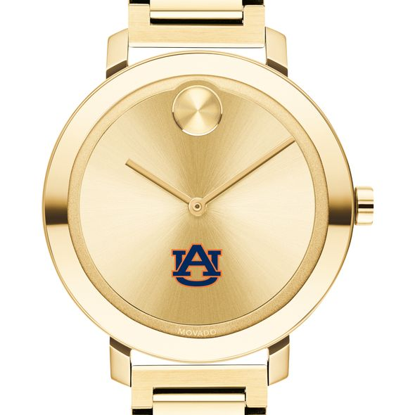 Auburn University Women's Movado Gold Bold 34