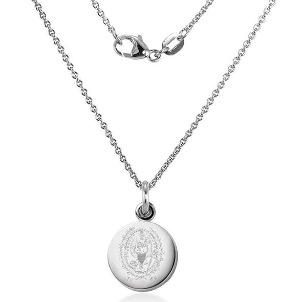 Georgetown University Necklace with Charm in Sterling Silver - Image 2