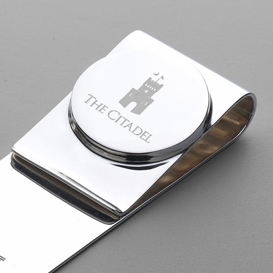 Citadel Sterling Silver Money Clip - Image 2