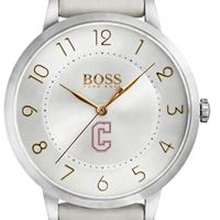 College of Charleston Women's BOSS White Leather from M.LaHart