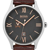 University of Virginia Men's BOSS Classic with Leather Strap from M.LaHart
