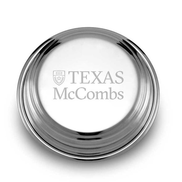 Texas McCombs Pewter Paperweight - Image 1