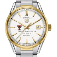Texas Tech Men's TAG Heuer Two-Tone Carrera with Bracelet