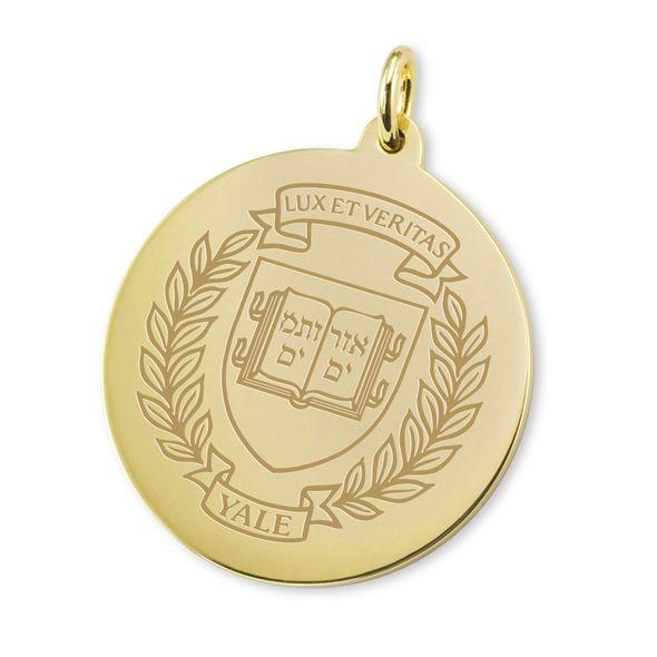 Yale 14K Gold Charm - Image 1