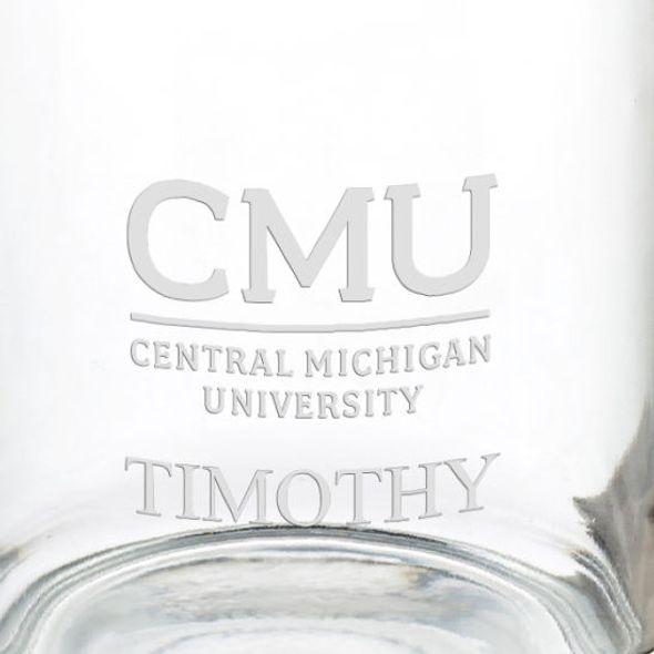 Central Michigan University 13 oz Glass Coffee Mug - Image 3
