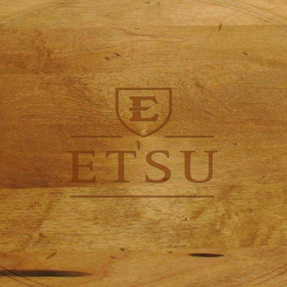 East Tennessee State University Round Bread Server - Image 2