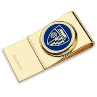 Johns Hopkins University Enamel Money Clip