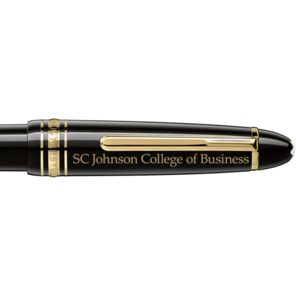 SC Johnson College Montblanc Meisterstück LeGrand Ballpoint Pen in Gold - Image 2
