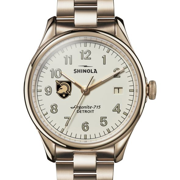 West Point Shinola Watch, The Vinton 38mm Ivory Dial - Image 1