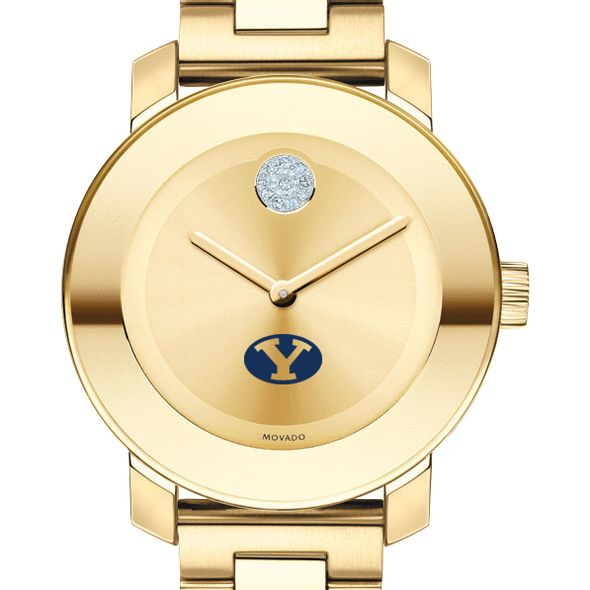 Brigham Young University Women's Movado Gold Bold