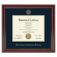 Berkeley Diploma Frame, the Fidelitas