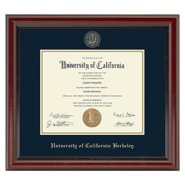 Berkeley Diploma Frame, the Fidelitas