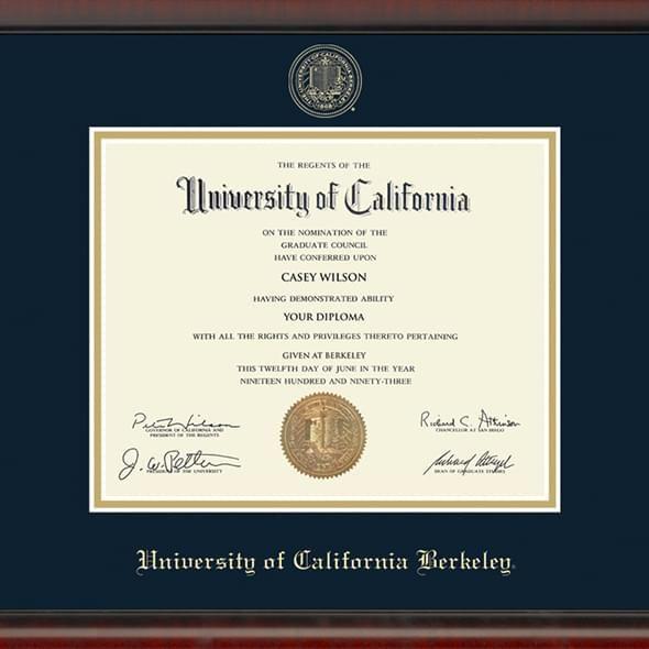 Berkeley Diploma Frame, the Fidelitas - Image 2