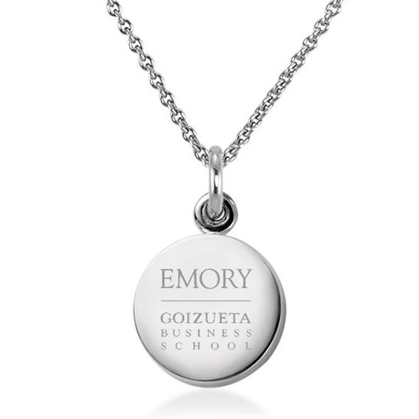 Emory Goizueta Necklace with Charm in Sterling Silver - Image 1
