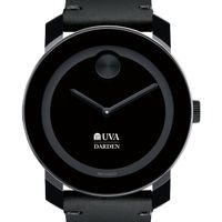 UVA Darden Men's Movado BOLD with Leather Strap