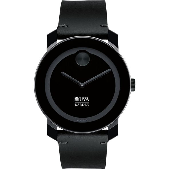 UVA Darden Men's Movado BOLD with Leather Strap - Image 2