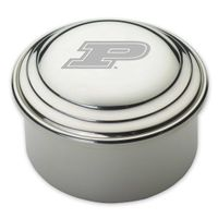 Purdue University Pewter Keepsake Box