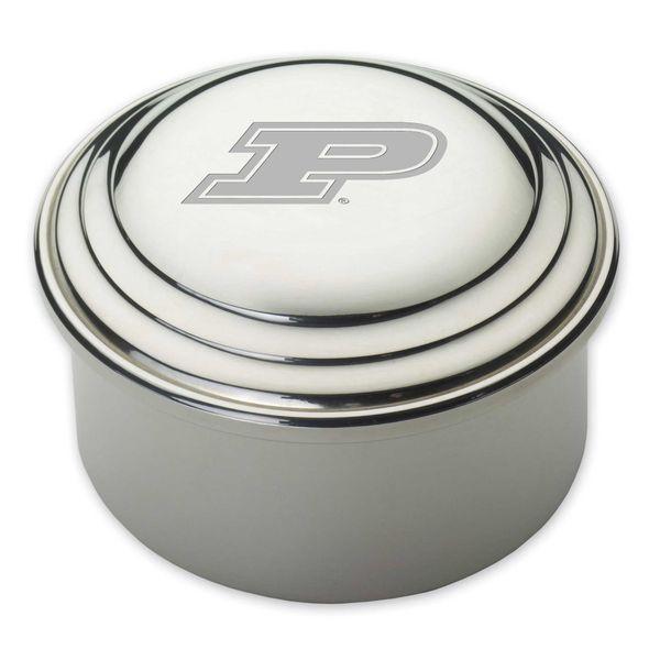 Purdue University Pewter Keepsake Box